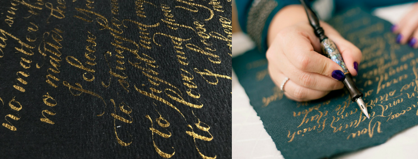 The British Quill Calligraphy and Hand Lettering