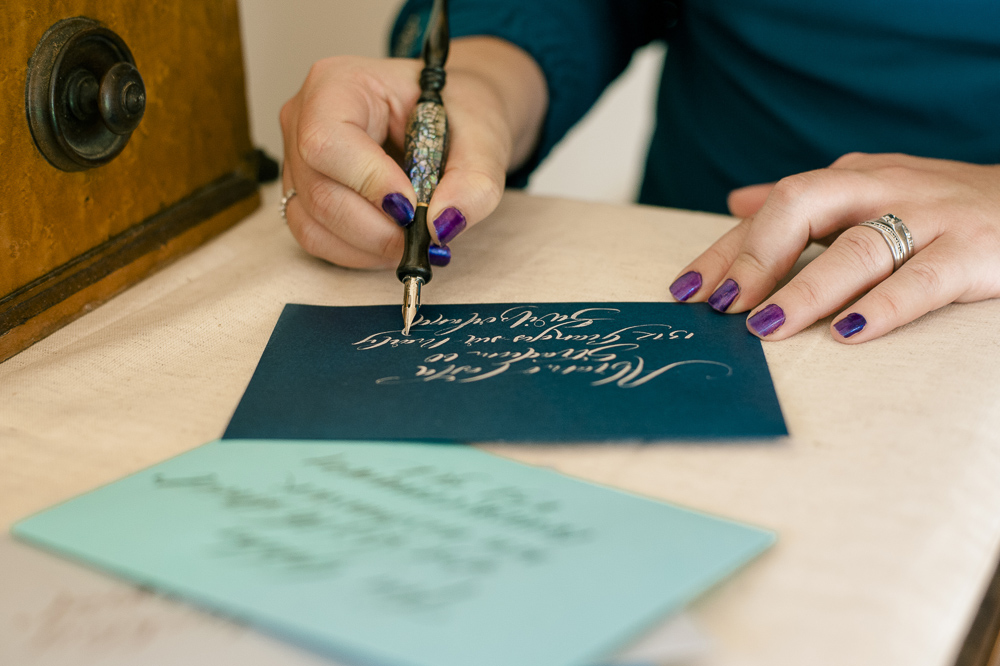 Martie Hancock for The British Quill Calligraphy and Hand Lettering